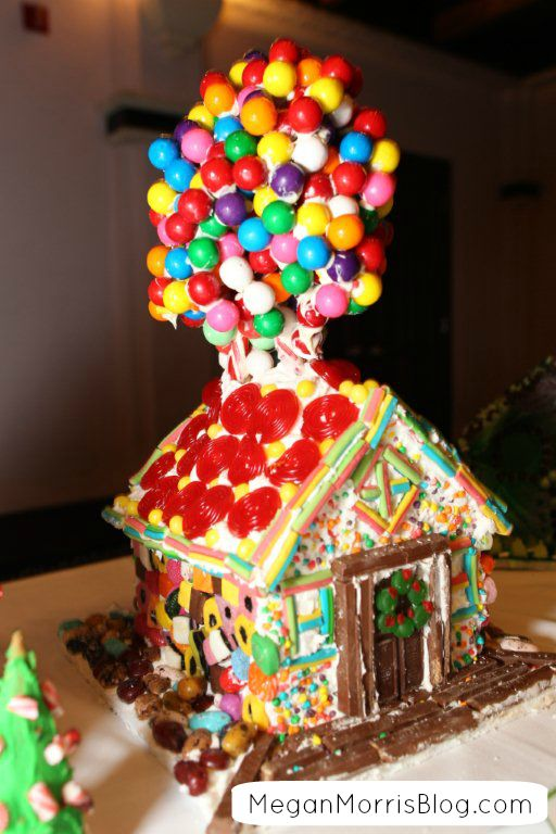33 Best Up Gingerbread House Images On Pinterest Gingerbread