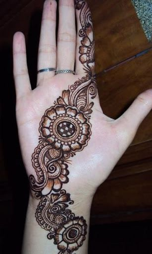 Beautiful Henna Tattoo Designs For Your Wrist: Henna Designs,henna Tattoo,simple Henna Designs,beautiful