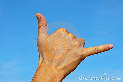 Shaka Sign | Shaka Sign Royalty Free Stock Image - Image: 18234586