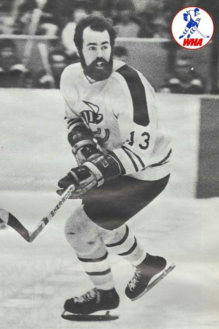 Pierre Guite scored 30 goals in 79 career games with the WHA Cincinnati Stingers.