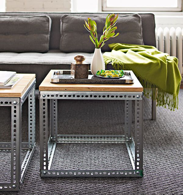 I first spotted this project in a Lowe's project mag. Good for outdoor tables with tile tops from hobo