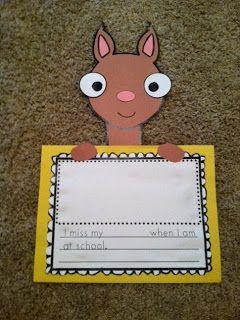 Llama Llama Craftivity-love for beginning of school!