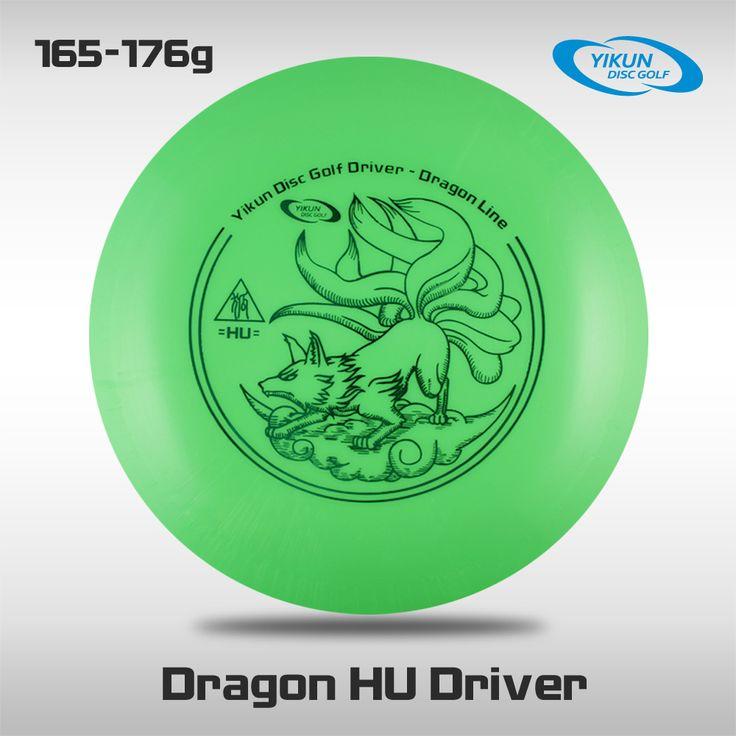 Professional Yikun Disc Golf Driver Dragon Line  HU Green Free Shipping PDGA Approval