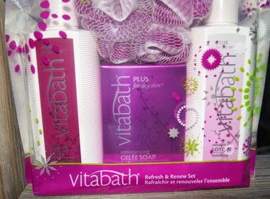 Vitabath would like to offer one of my readers their choice of one of the Holiday Bath Set collection.  This giveaway will run from November 13th to December 11th, 2013 (midnight EST).  Winner, You have 72 hours to reply.  You must be 18+ Open to Canadians and U.S.  Good Luck! #Giveaway #2014ChristmasGiftGuide