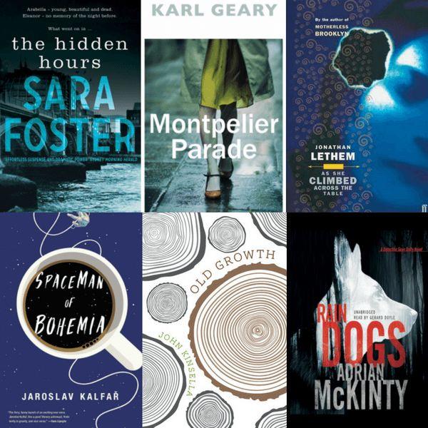Booklover Mailbox - Sara Foster, Karl Geary, Jonathan Lethem, Jaroslav Kalfar, John Kinsella, Adrian McKinty