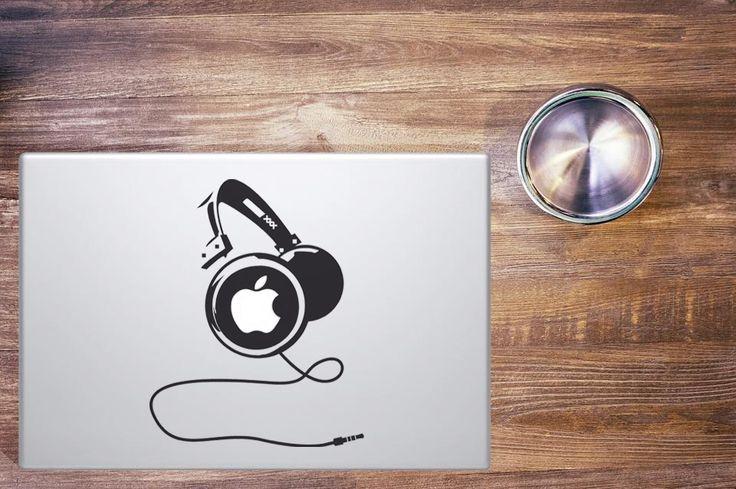 Headphones || MacBook sticker || our online store: www.etsy.com/it/shop/PasteITsticker || our facebook page: https://www.facebook.com/pasteit.it || #pasteit #sticker #stickers #macbook #apple #blackandwhite #art #drawing #custom #customize #diy #decoration #illustration #design #technology #computer #pc #censored #concept #idea #minimalist #decal #skin #cover #laptop #music #headphones