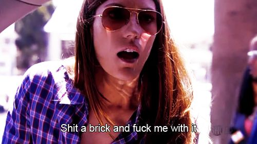 Debra Morgan #dirtymouth. This is my favorite line of hers; it makes me laugh so much. #brightensmyday