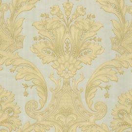 creme goud barok 3d vinyl behang 289