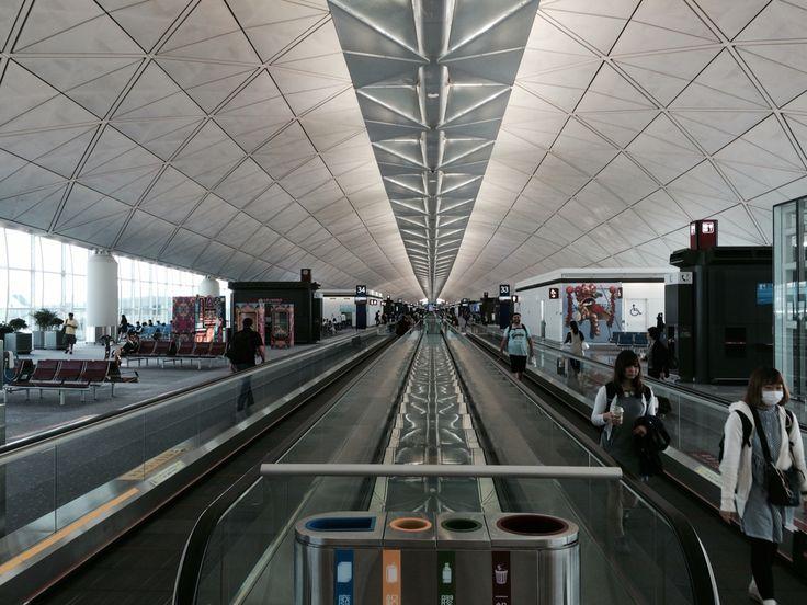 Hong Kong Airport, 2015