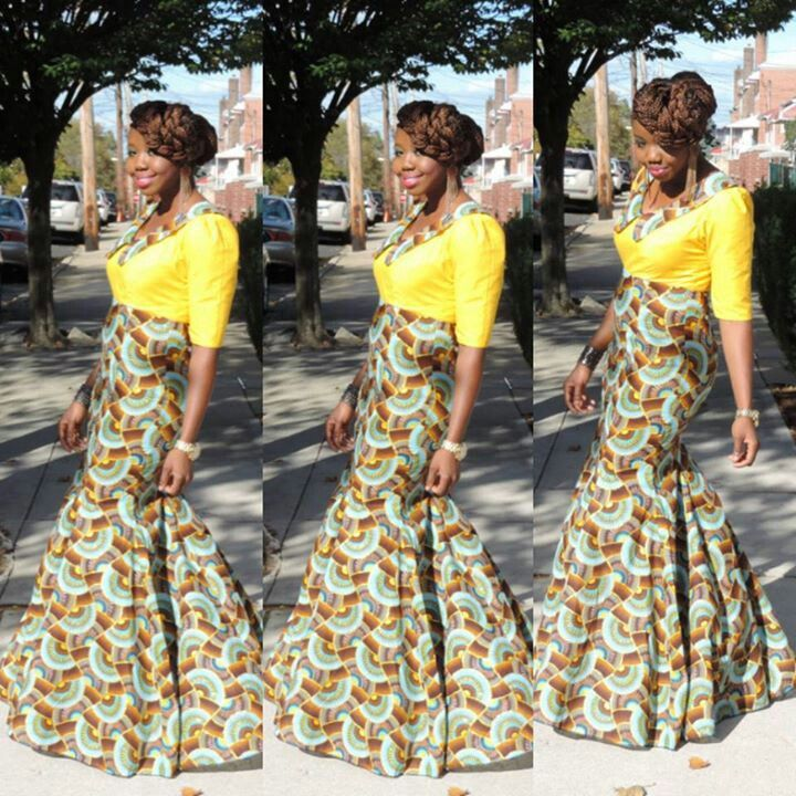 Nice style africans couture africana roupa ankara fashion africans
