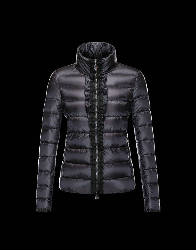 Moncler 2013 Womens Jacket Oxalis Black $349