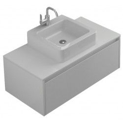 VOGUE Glacier  800mm Wall Hung Vanity - White