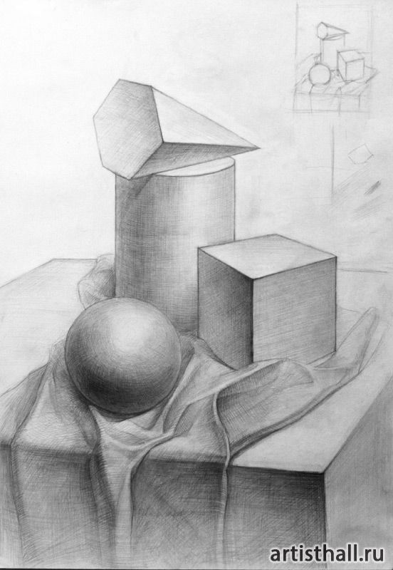 Картинки по запросу натюрморт простым карандашом