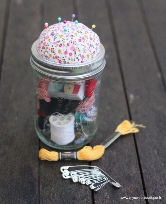 Les 25 meilleures id es de la cat gorie kits de couture for Boite a couture fille