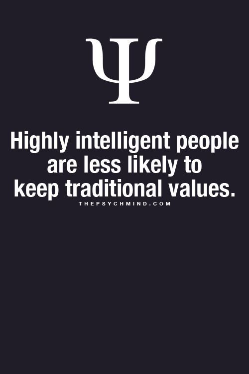 Statistically True • http://www.sciencedaily.com/releases/2010/02/100224132655.htm • Liberals and atheists smarter? Intelligent people have values novel in human evolutionary history, study finds.:
