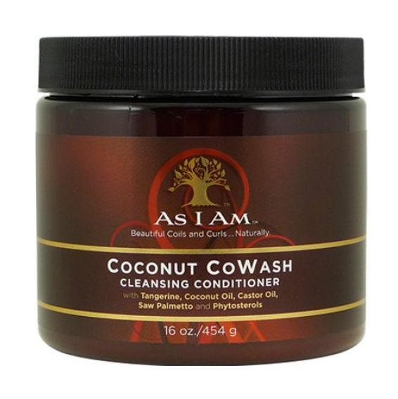 As I Am - COCONUT COWASH Cleansing Conditioner  16oz