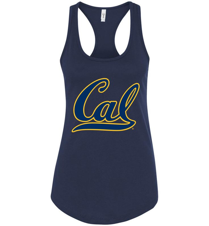 NCAA- California Golden Bears Racerback Tank - UCAL2000-A