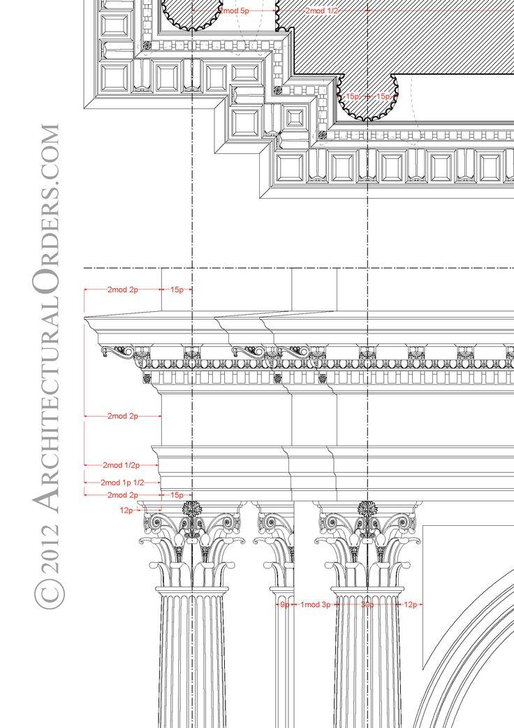 Best 25 corinthian order ideas on pinterest corinthian for Architecture classique
