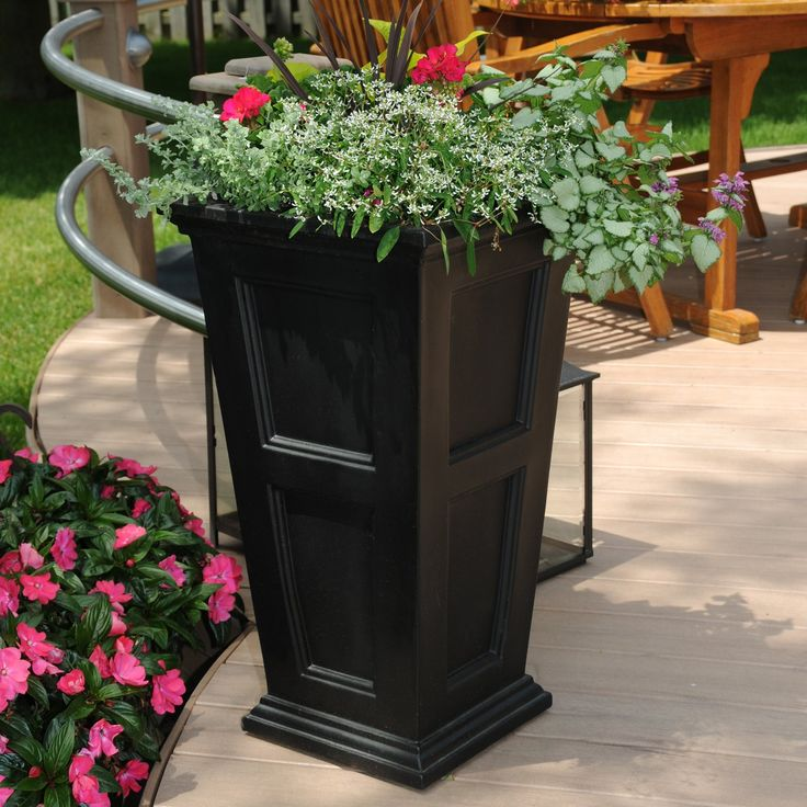 Have to have it. Mayne Fairfield Tall Patio Planter