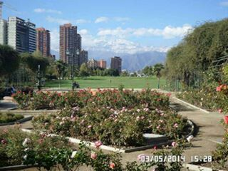 Parque Arauncano, Las Condes. Chile