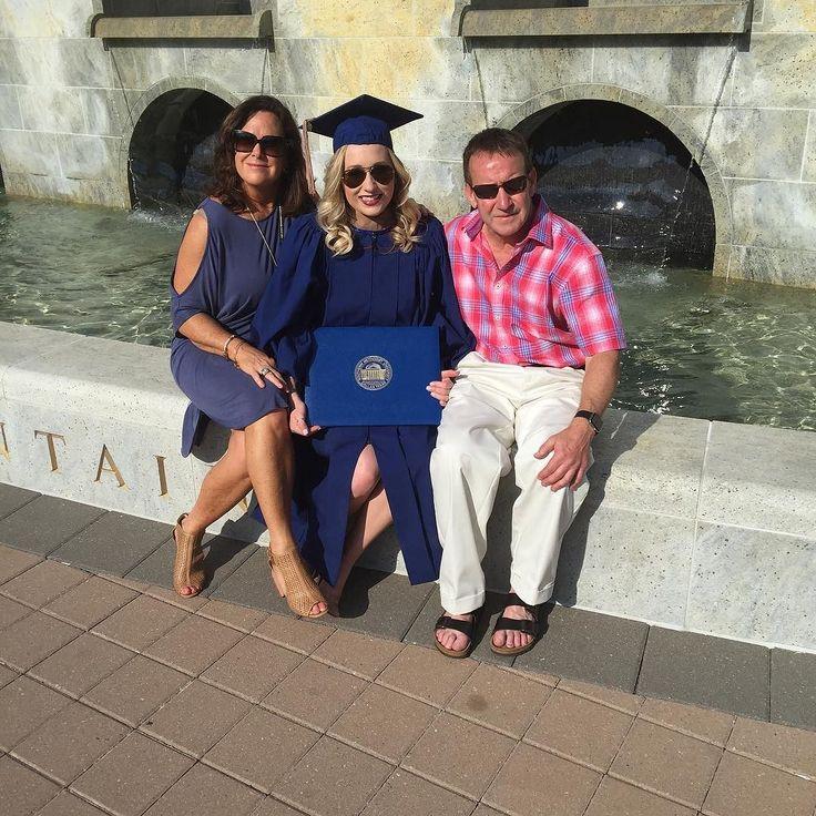 Celebrating McKenzie's graduation. So incredibly proud of