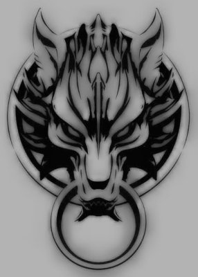 Cloud Strife's Lion on his shoulder. awesome tat idea! i need it!