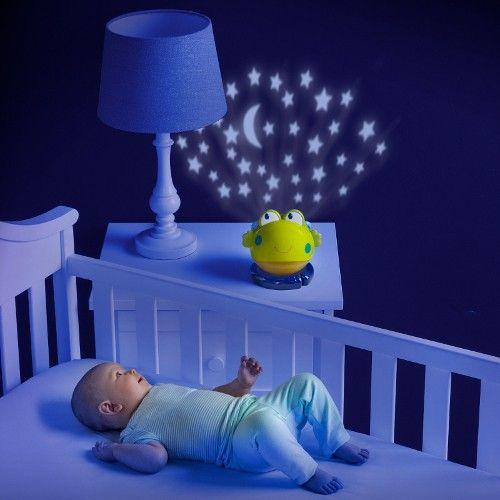 Faceti cunostinta cu noul prieten al copilului dumneavoastra! Proiectorul Lilypad Lullaby il va ajuta pe bebe sa adoarma mai usor, cu ajutorul proiectarii stelutelor. (Bright Starts - Proiector Lilypad Lullapby 3 in 1)