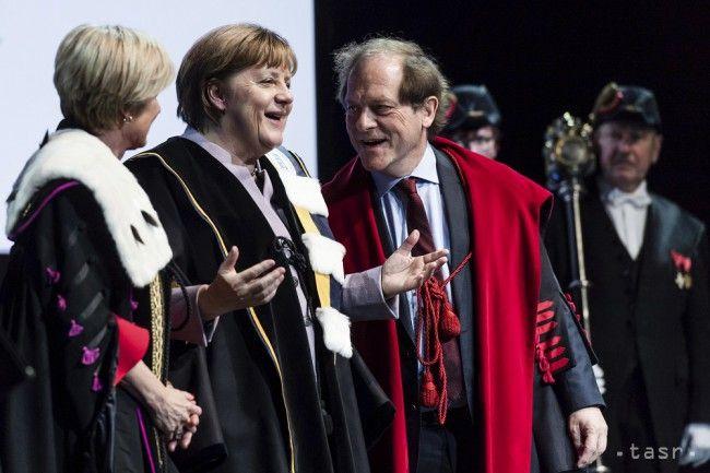 Merkelovej udelili v Belgicku čestný titul, prirovnali ju ku Gándhimu - Zahraničie - TERAZ.sk