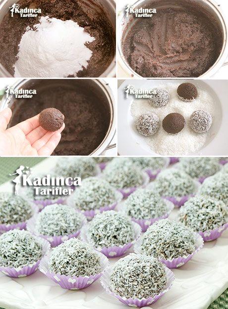 Çikolatalı İrmik Topları Tarifi
