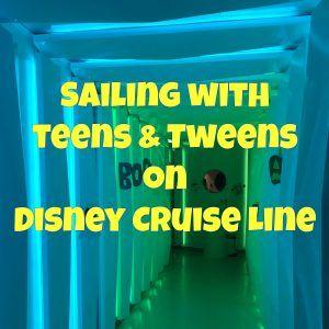 Disney Cruise Line with Teens (and Tweens) | DCL Prep School