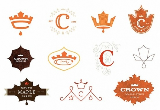 It's important to have many different designs to play with for your logo, especially if it's for a client. You never know what a person might end up liking, so it's crucial to have options.