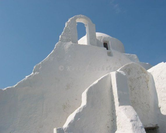 Paraportiani - Mykonos . Greece by CraftyWings