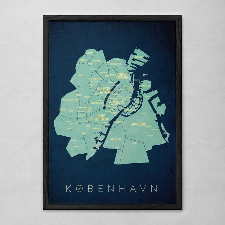 Plakat over København