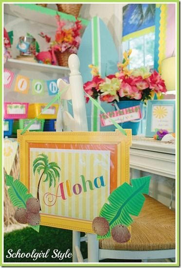 Classroom Luau Ideas : Best images about luau on pinterest birthday