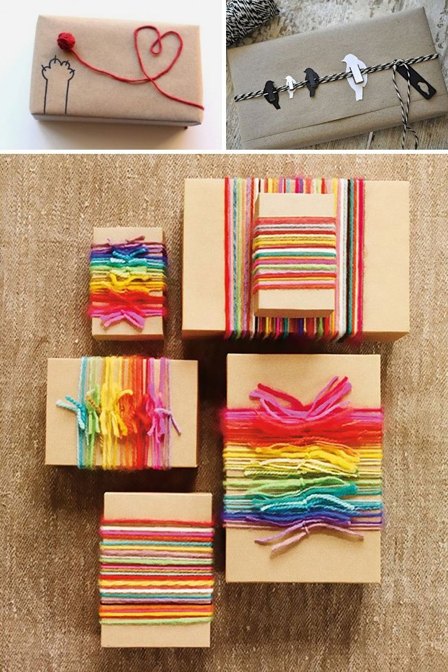 17Amazing Gift Wrapping Ideas