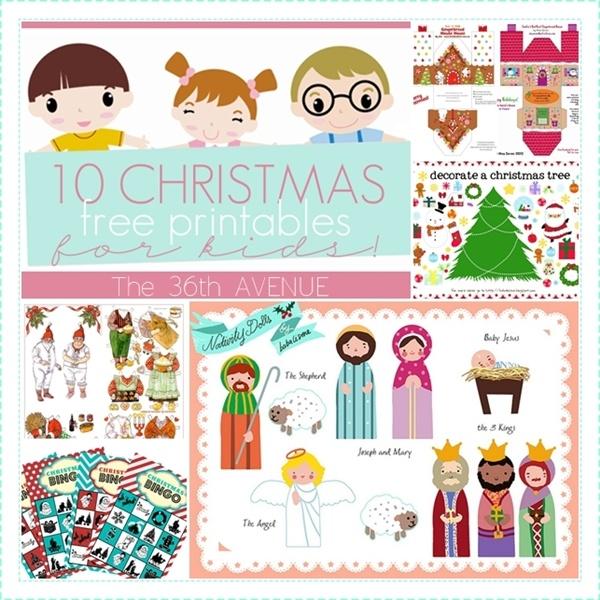 10 Free Christmas Printables for Kids