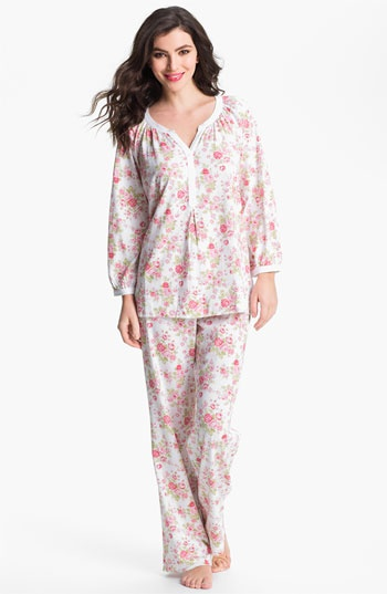 Carole Hochman Designs Floral Print Pajamas available at #Nordstrom