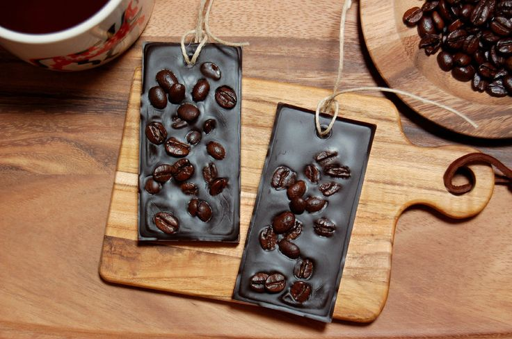 Hazelnut Coffee Scented Wax Tablets with Hazelnut Coffee Beans