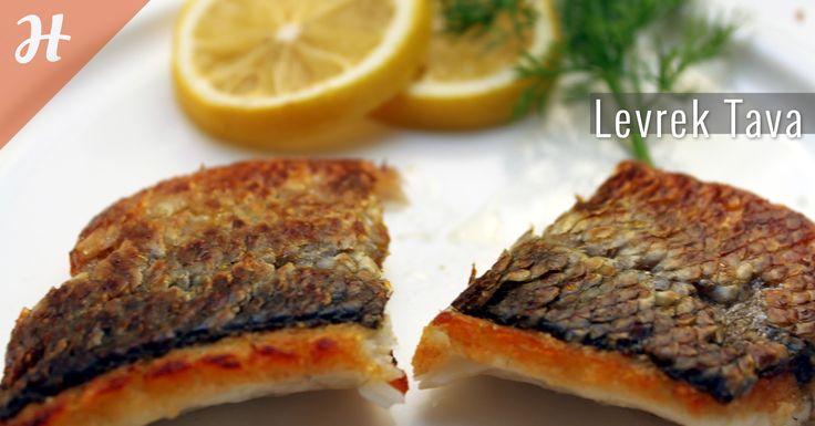 Pratik bir lezzet levrek tava! Yapılışı balık bölümünde: http://www.hobiyo.com/kurslar/temel-mutfak-teknikleri-k1
