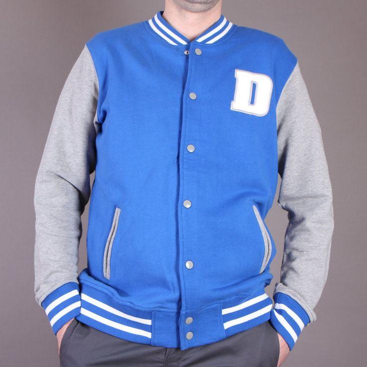 Bluza Dickies UTAH Royal Blue Baseballówka szaro-niebieska / www.brandsplanet.pl / #dickies streetwear