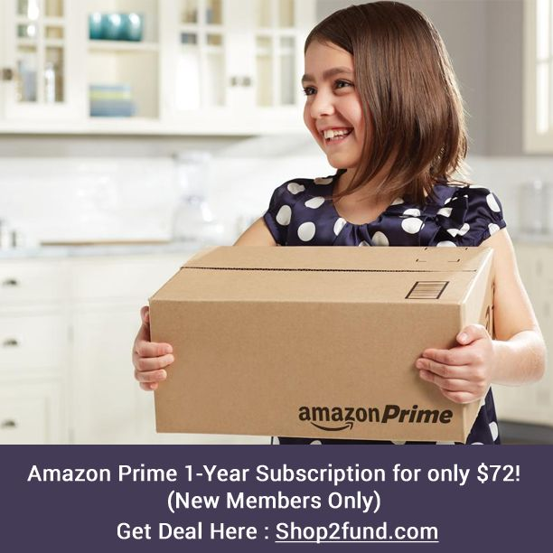 Today only, #Amazon is offering Amazon Prime 1-Year Subscription for $72 in celebration of the 72nd Annual #GoldenGlobeAwards. That's $27 off!   Note this offer is for new members only. Hurry, before time runs out.  Get Deal Now: http://www.shop2fund.com/coupon/amazon-prime-1-year-subscription-for-72-new-members-only/747262/