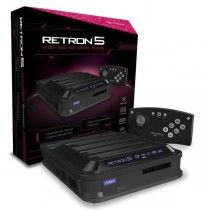 Hyperkin RetroN 5 Retro Video Game System Console NEW Nintendo NES, Sega Genesis