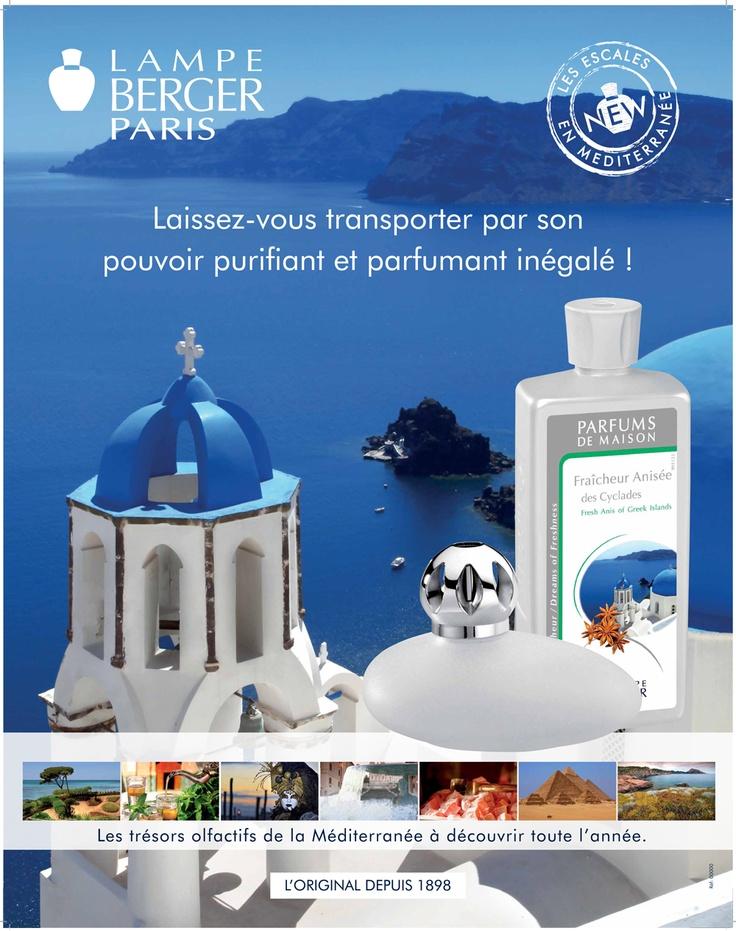 Présentation Fraîcheur anisée des Cyclades. Laissez-vous transporter par son pouvoir purifiant et parfumant inégalé.
