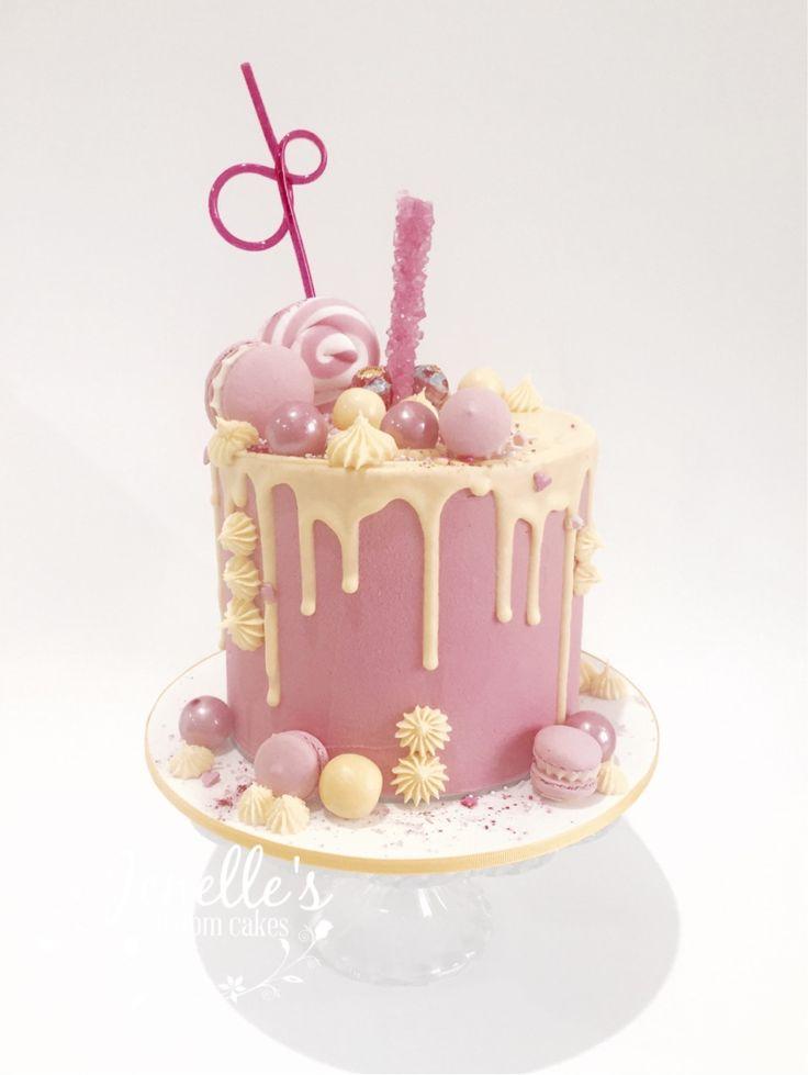 Th Birthday Drip Cake