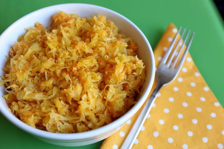Sachen die glücklich machen: Sauerkrautsalat, polnisch (Surówka) (Rohkost)