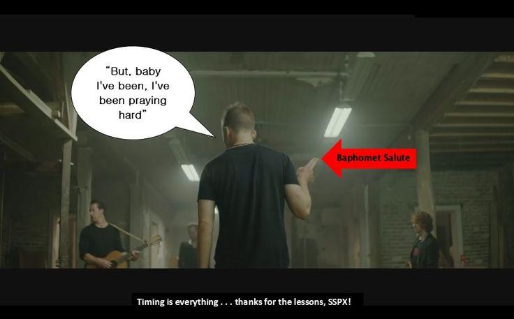 Edom / Esau: baphomet salute | OneRepublic - Counting Stars