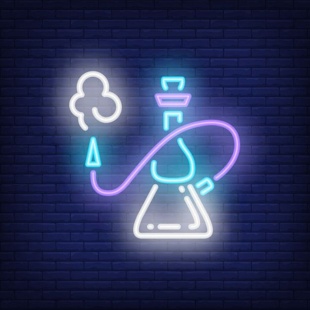 Download Hookah With Smoke Neon Style Icon For Free In 2020 Neon