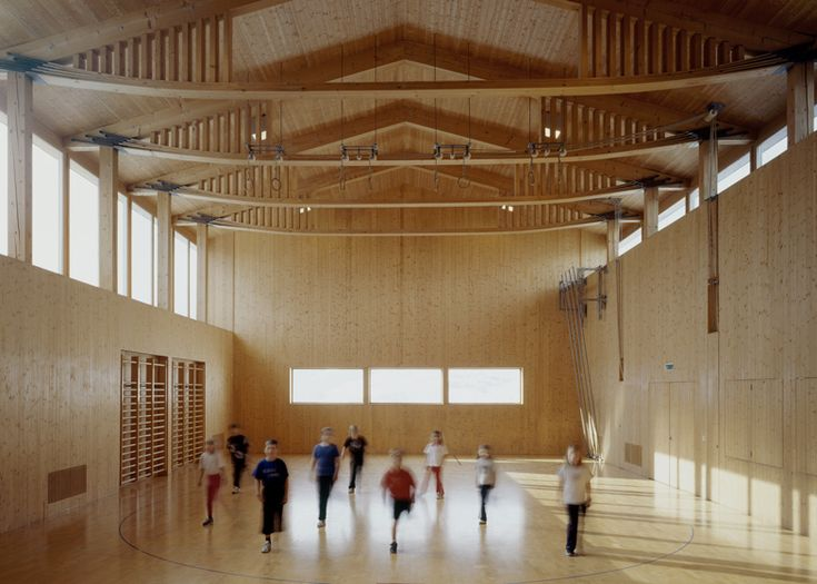 Vrin Mehrzweckhalle by Swiss architect Gion A Caminada⊚ pinned by www.megwise.it #megwise