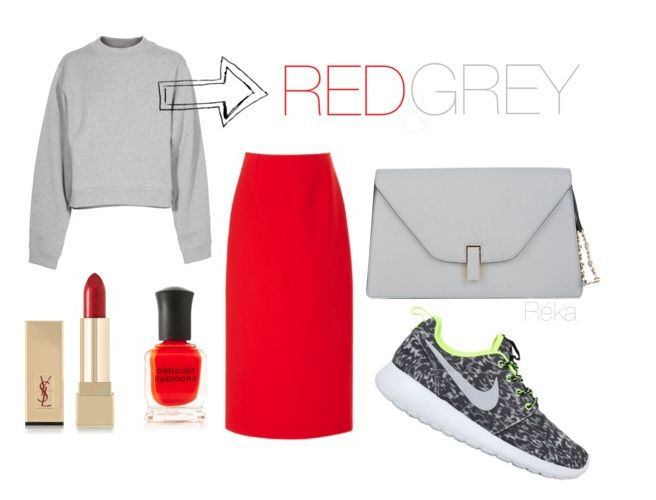 Hot for Thursday: Excuse my red and grey crush