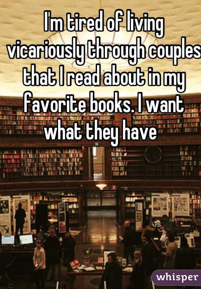 But, more often than not, the chemistry between couples in books just can't be replicated for you in real life.